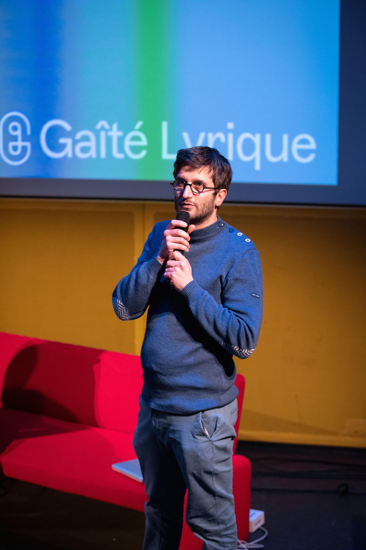 François Clos, modérateur