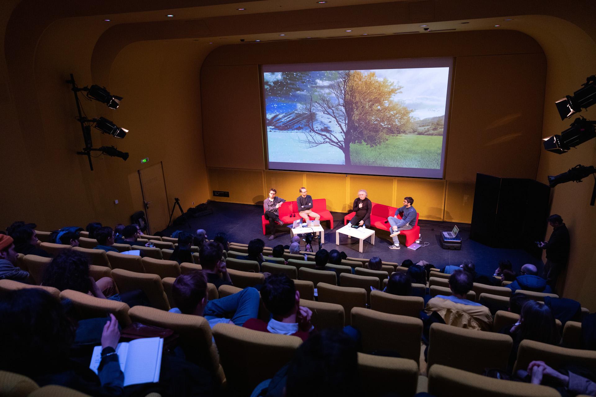 L'auditorium de la Gaité-Lyrique, conférence P&P2020