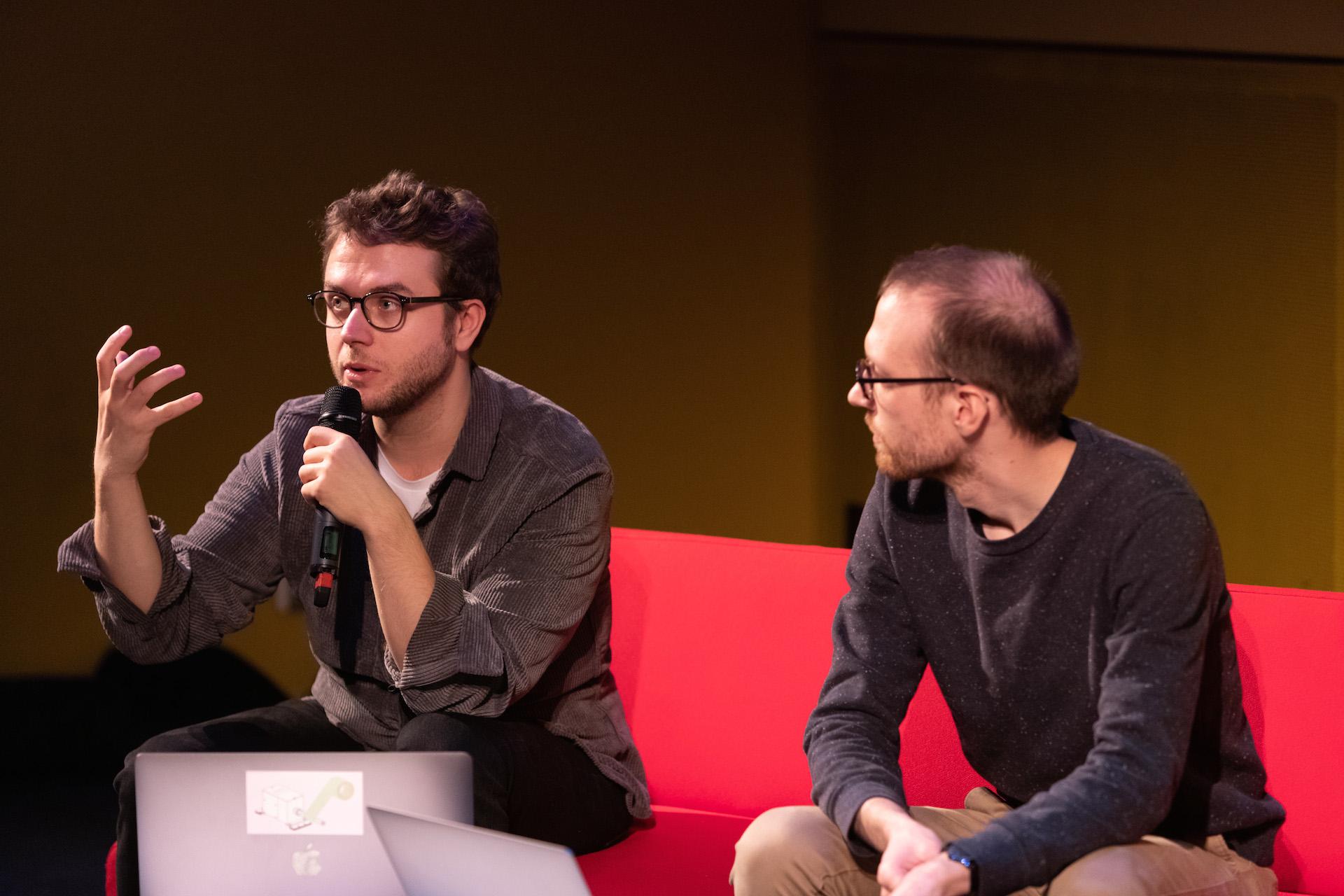 Jérôme Nika et Pierre Lelièvre
