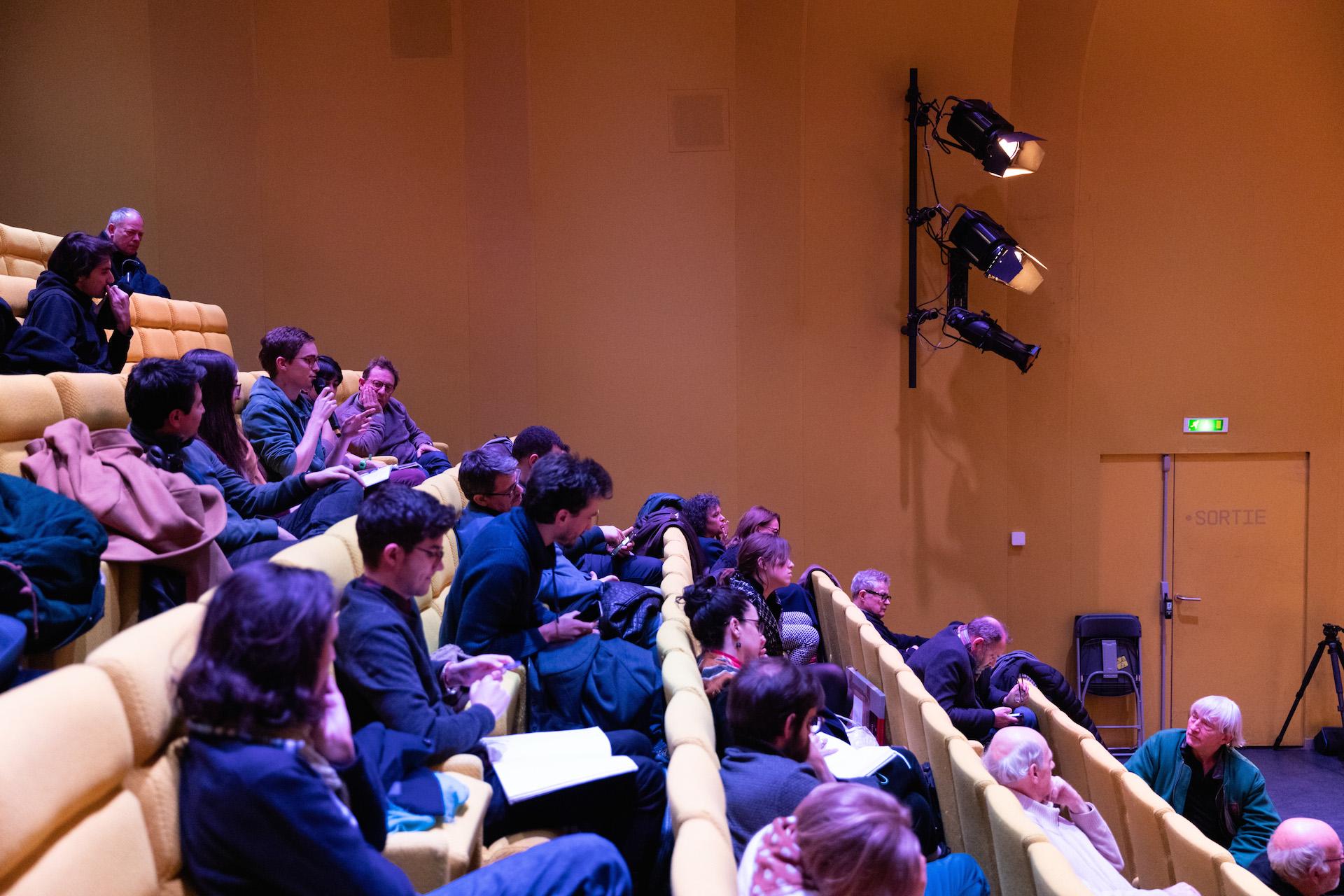 Le public de la conférence P&P2020 à la Gaîté Lyrique